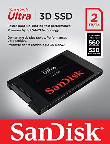 Sandisk Ultra 3D 2TB SSD
