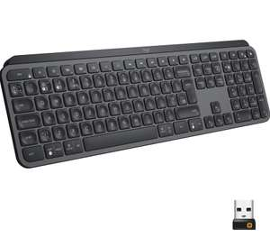 Logitech Mx keys met US int. layout
