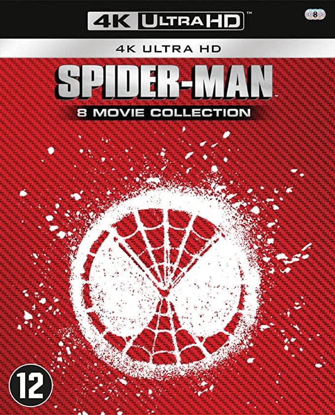 Spider-Man - 8 Movie Collection 4K Ultra HD