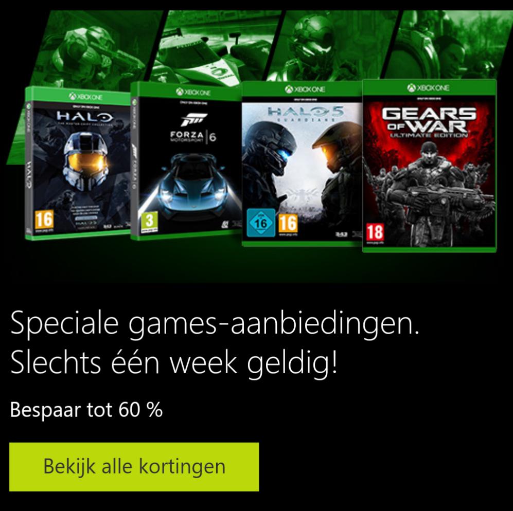 Game aanbiedingen (Minecraft - Xbox One Edition voor €8) @ Microsoft Store
