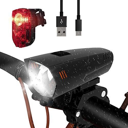 Putare Led fietsverlichtingsset IPX5