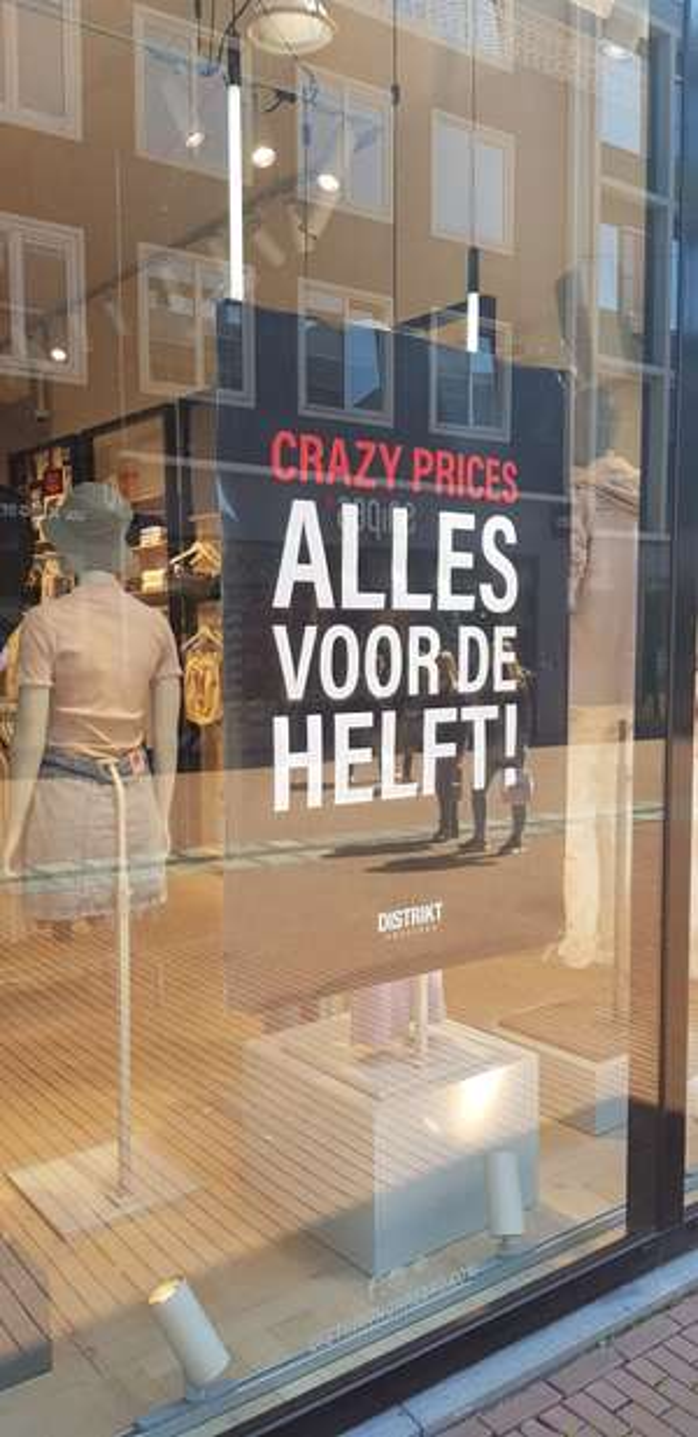 Alles 50% bij Distrikt Nijmegen