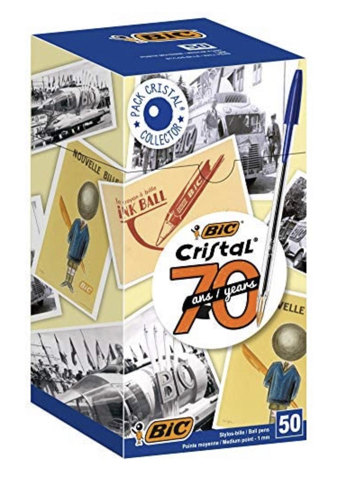 BIC Cristal 1mm Balpen (50 stuks) @ Amazon.nl
