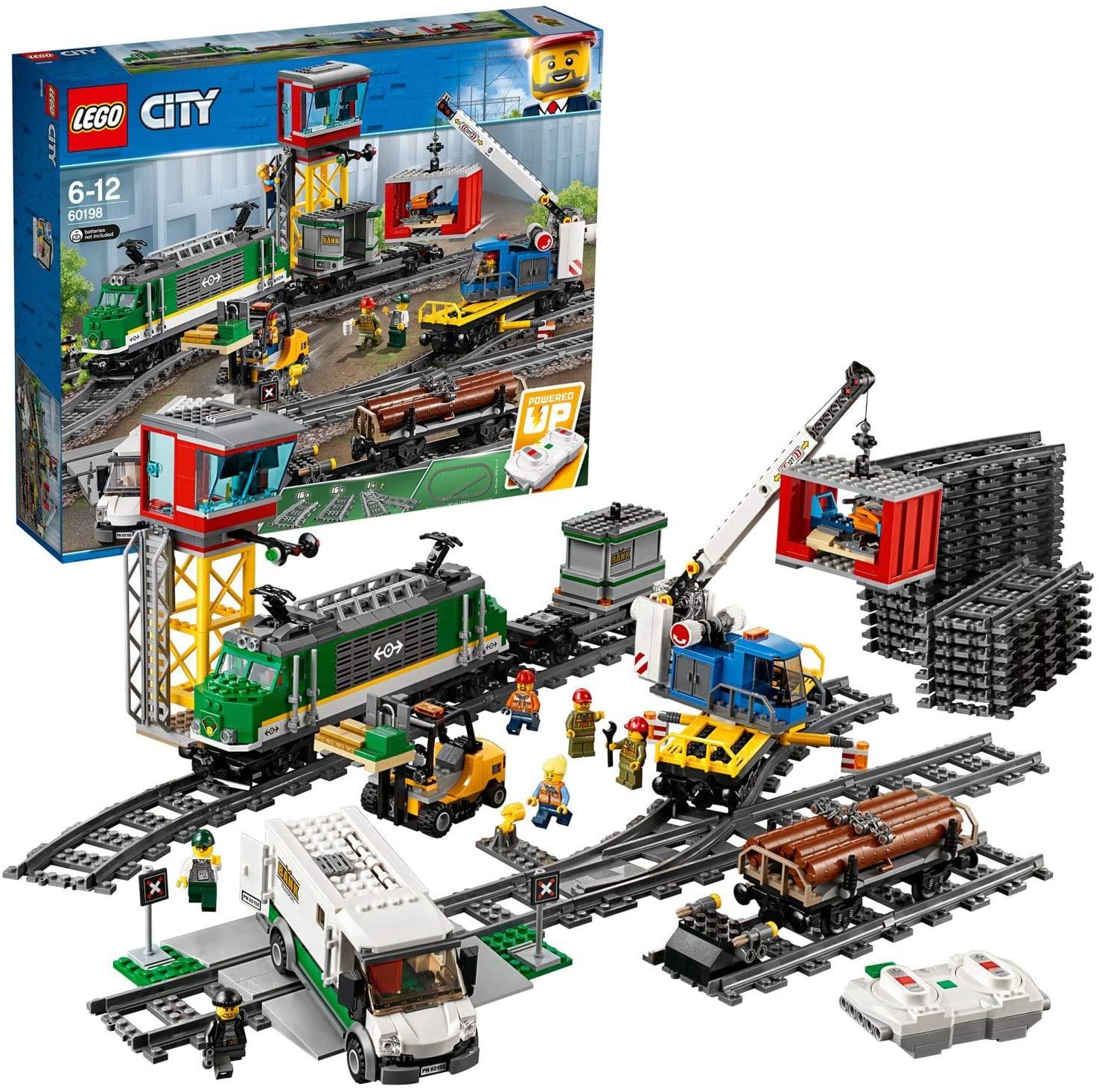 LEGO 60198 City Trains Cargo Train