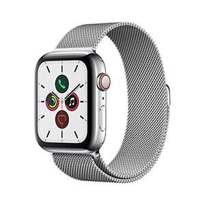 Apple Watch Series 5 (GPS + Cellular, 44 mm) RVS - Milanese Loop