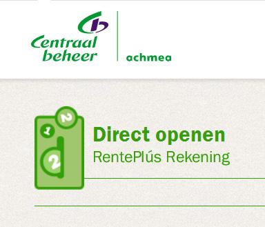 €11,60 voor gratis spaarrekening Centraal Beheer Achmea