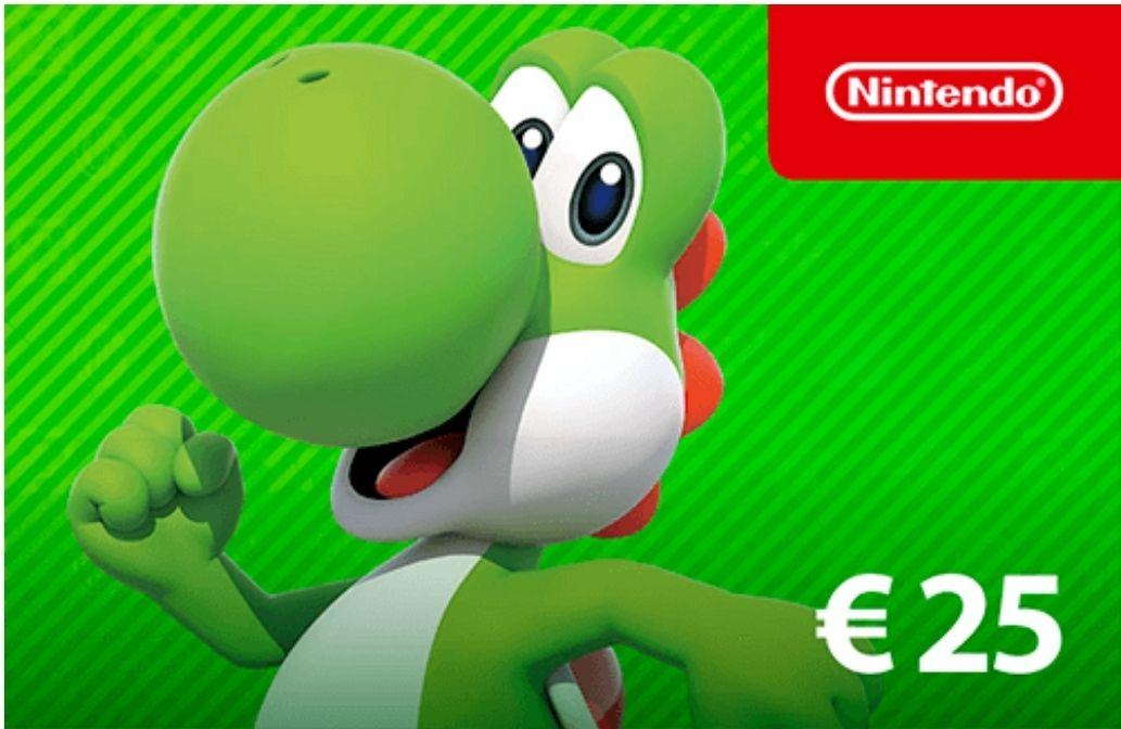 Nintendo eShop tegoed €25