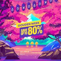 Golden week sale op PSN
