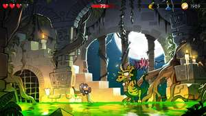 Android game (play store): Wonder Boy: The Dragon's Trap