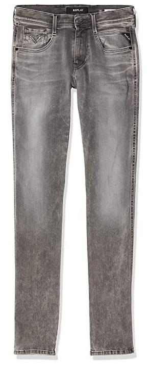Replay Anbass Slim Jeans voor heren grijs