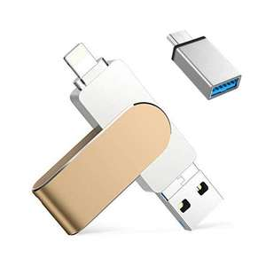 Qarunt 128GB USB Stick Voor iPhone @ Amazon
