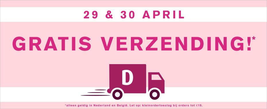 Gratis verzending bij Drogisterij.Net NL&België