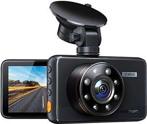 Apeman dashcam 1080P HD camera en 170 graden kijkhoek