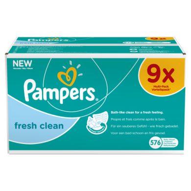 Pampers voordeelpak 9 x 64