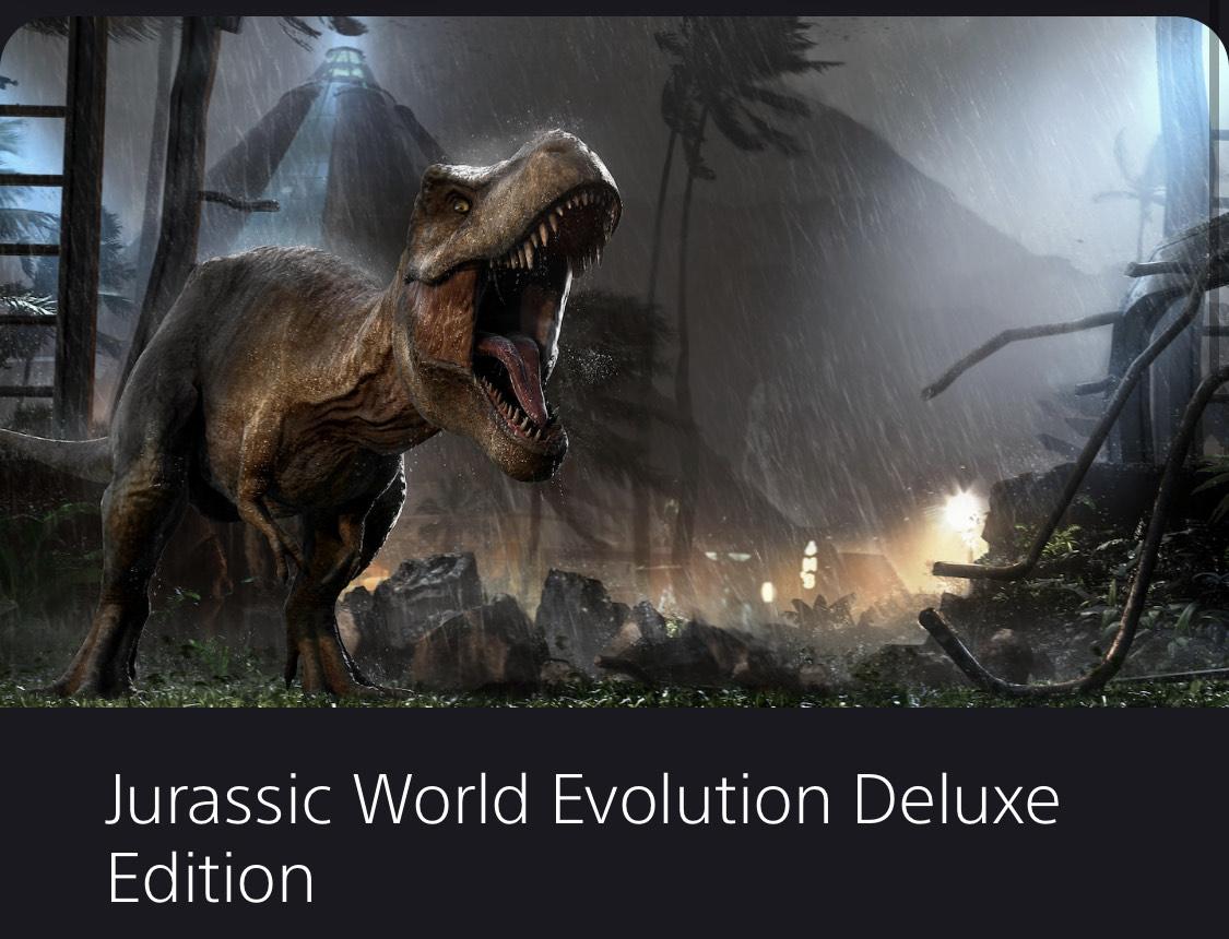 Jurassic World Evolution Deluxe €13,74