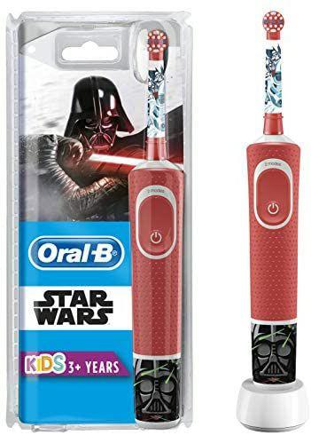 Oplaadbare Oral B electrische tandenborstel kids met oplaadstation