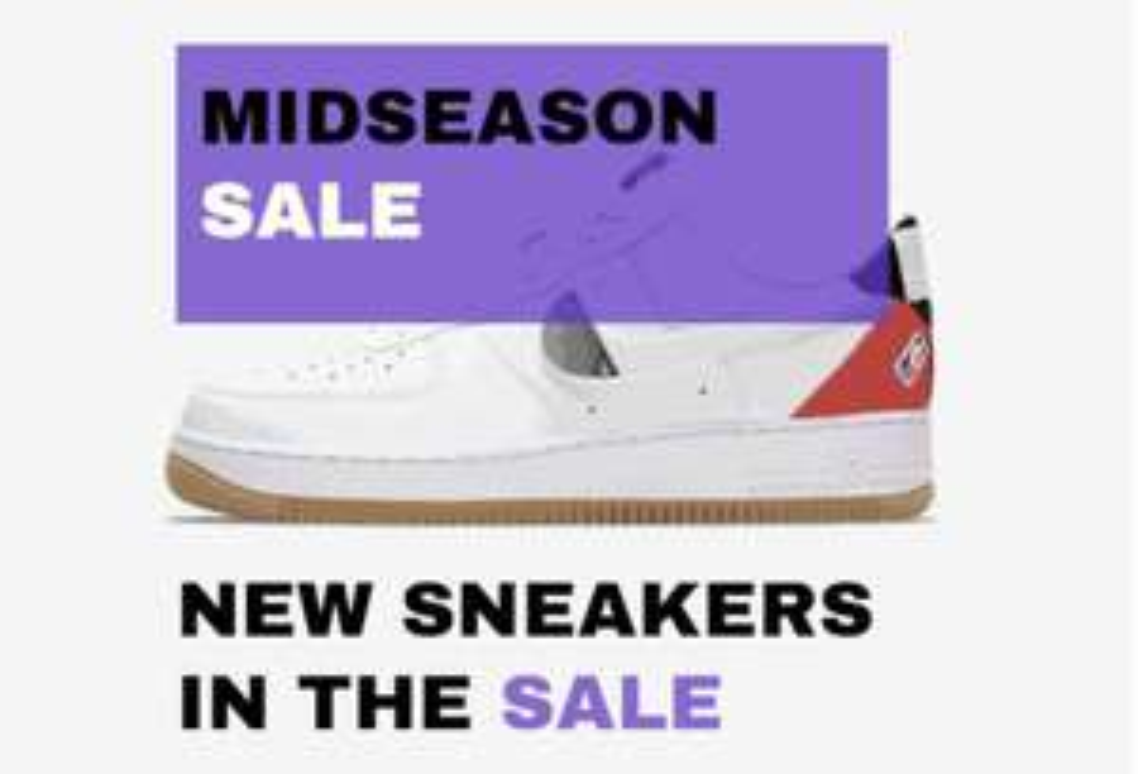 Midseason Sale @ Sneakerbaas.NL