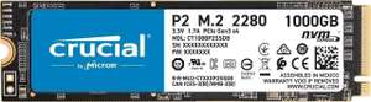Crucial P2 1TB SSD NVMe @Amazon DE