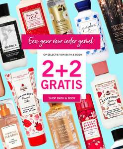 Bath & body works 2+2 gratis