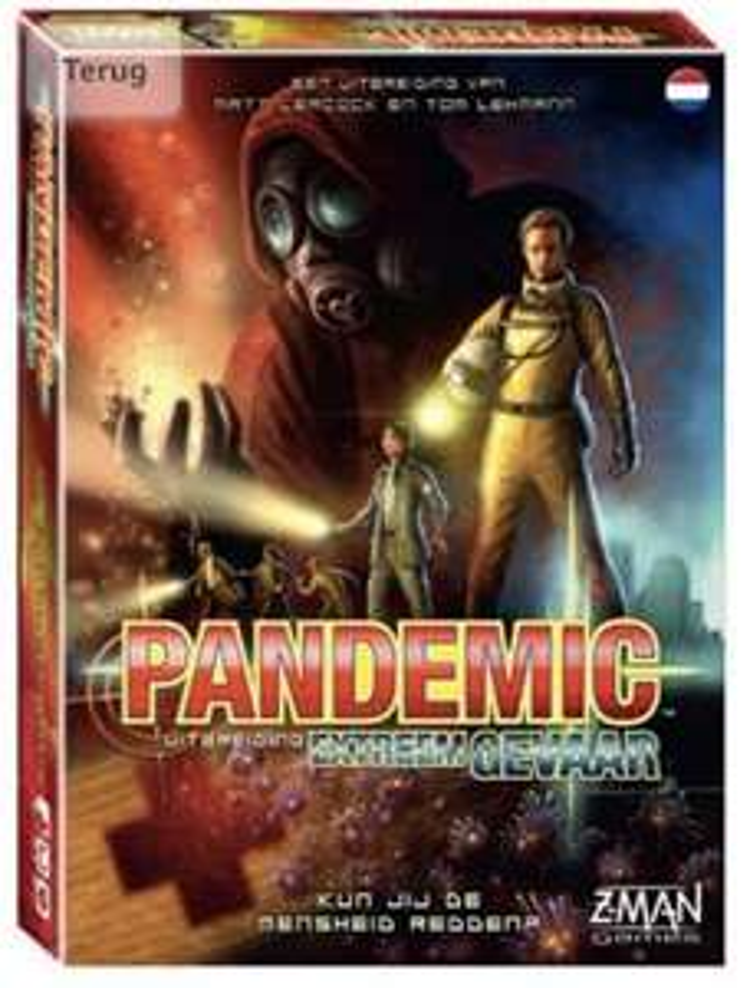 Pandemic Extreem Gevaar, uitbereiding van pandemic!
