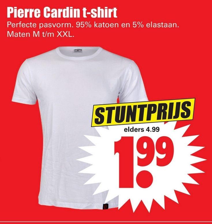 Pierre Cardin T-Shirt bij Dirk