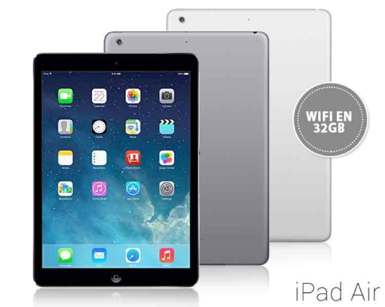 iPad Air 32 GB voor €376,90 @ 1dayfly