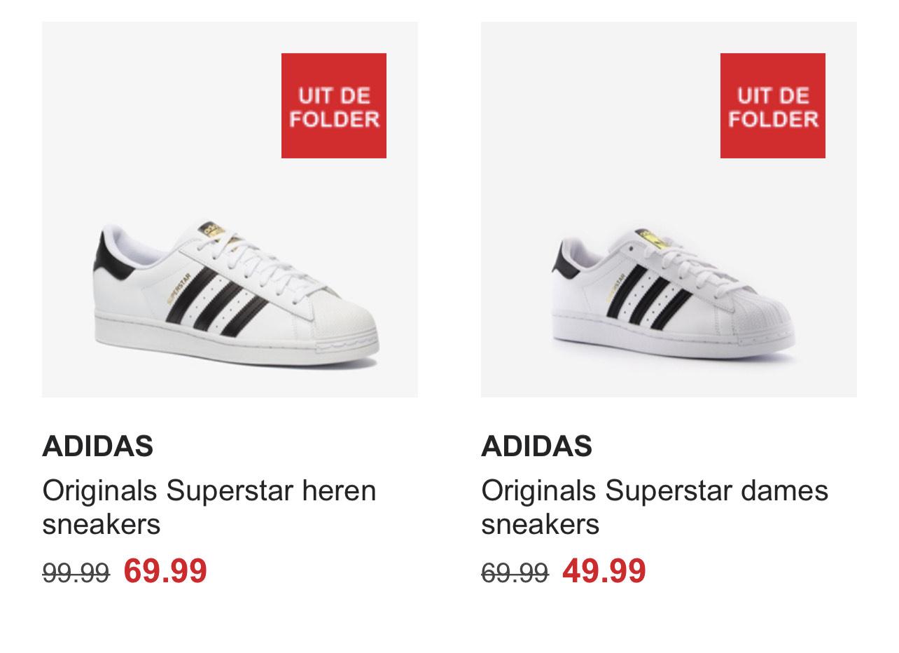 Adidas Superstar bij Scapino