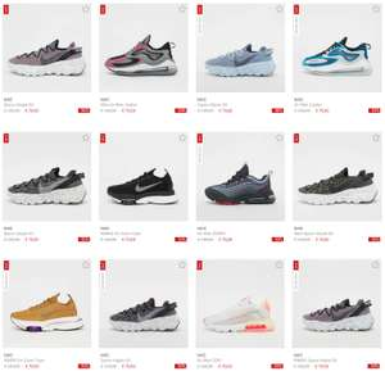 Nike sneakers [o.a. Air Max] nu €70 [waren tot €149,99 - 12 modellen]