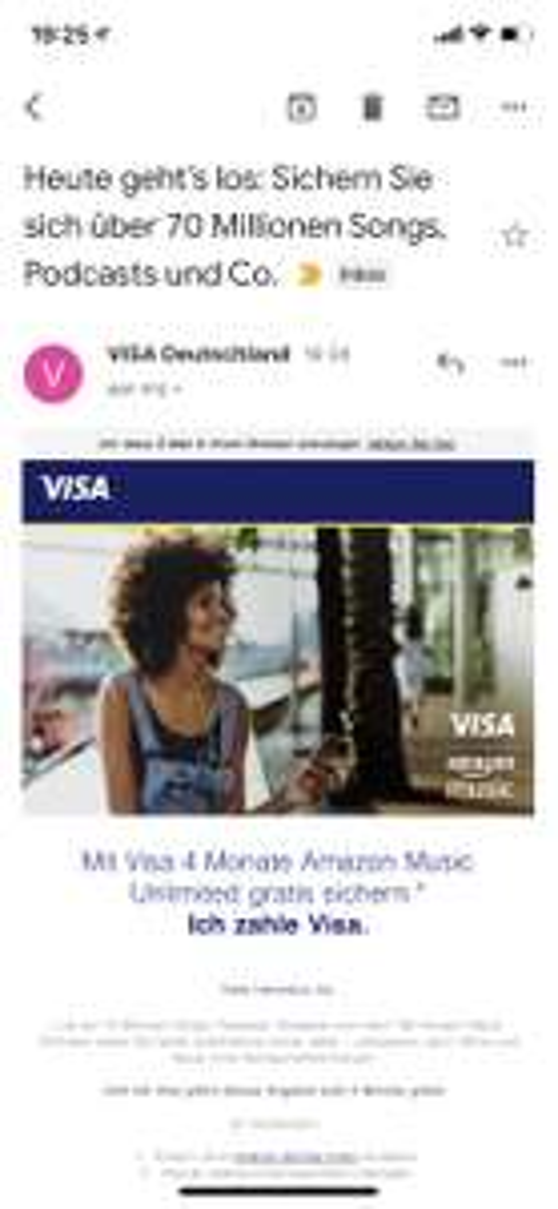 Gratis vier maanden Amazon Music