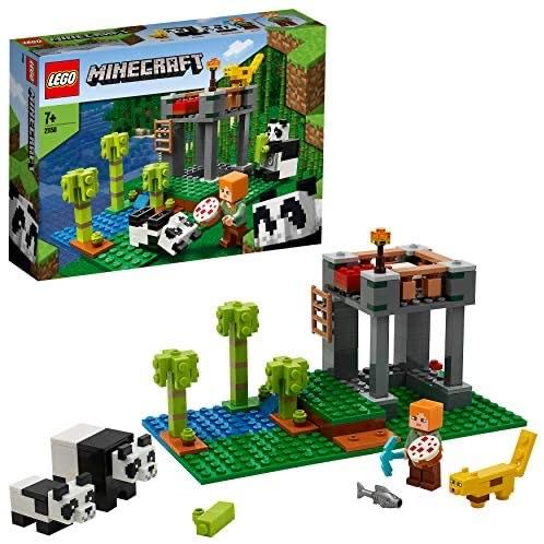 LEGO 21158 Minecraft Het pandaverblijf Bouwset