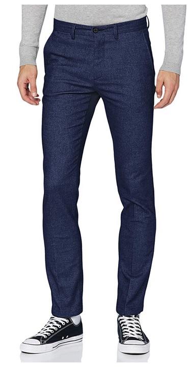 Tommy Hilfiger heren Denton Chino Wool Look Flex broek 32W / 38L