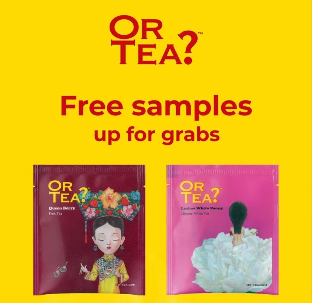 2 gratis theezakjes van Or Tea? thuisgestuurd