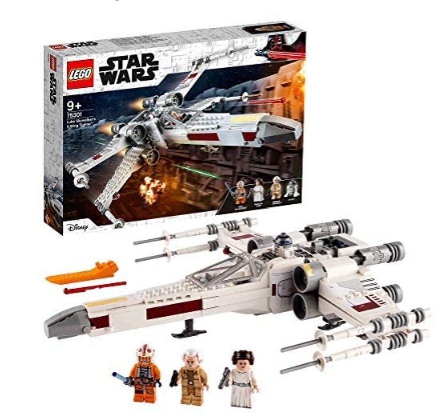 LEGO75301StarWarsLukeSkywalker'sX-WingFighter