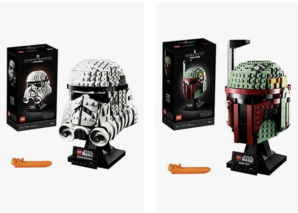 LEGO 75276 Stormtrooper en LEGO 75277 Boba Fett