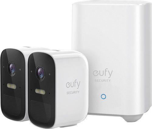 eufy eufyCam2C (set van 2 stuks + basisstation)