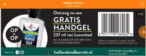 Gratis handgel 237 ml van Lucovitaal @Holland & Barrett