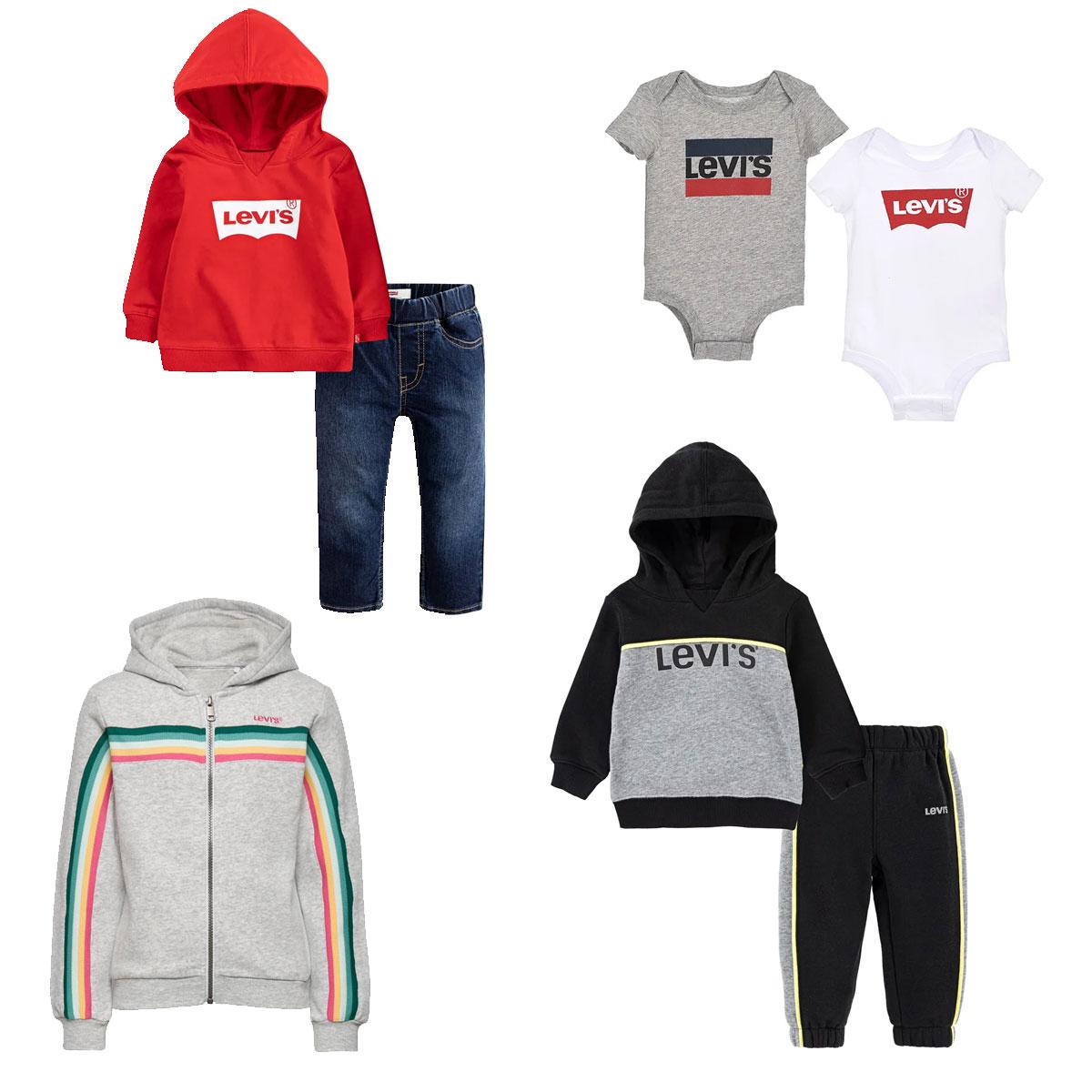 Levi's baby & kids tot -60% + gratis verzending t.w.v. €3,95