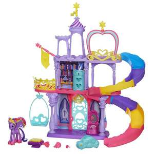 My Little Pony Twilight Sparkle kasteel voor €29 @ Bart Smit
