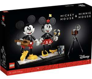 LEGO Disney Mickey Mouse en Minnie Mouse personages 43179
