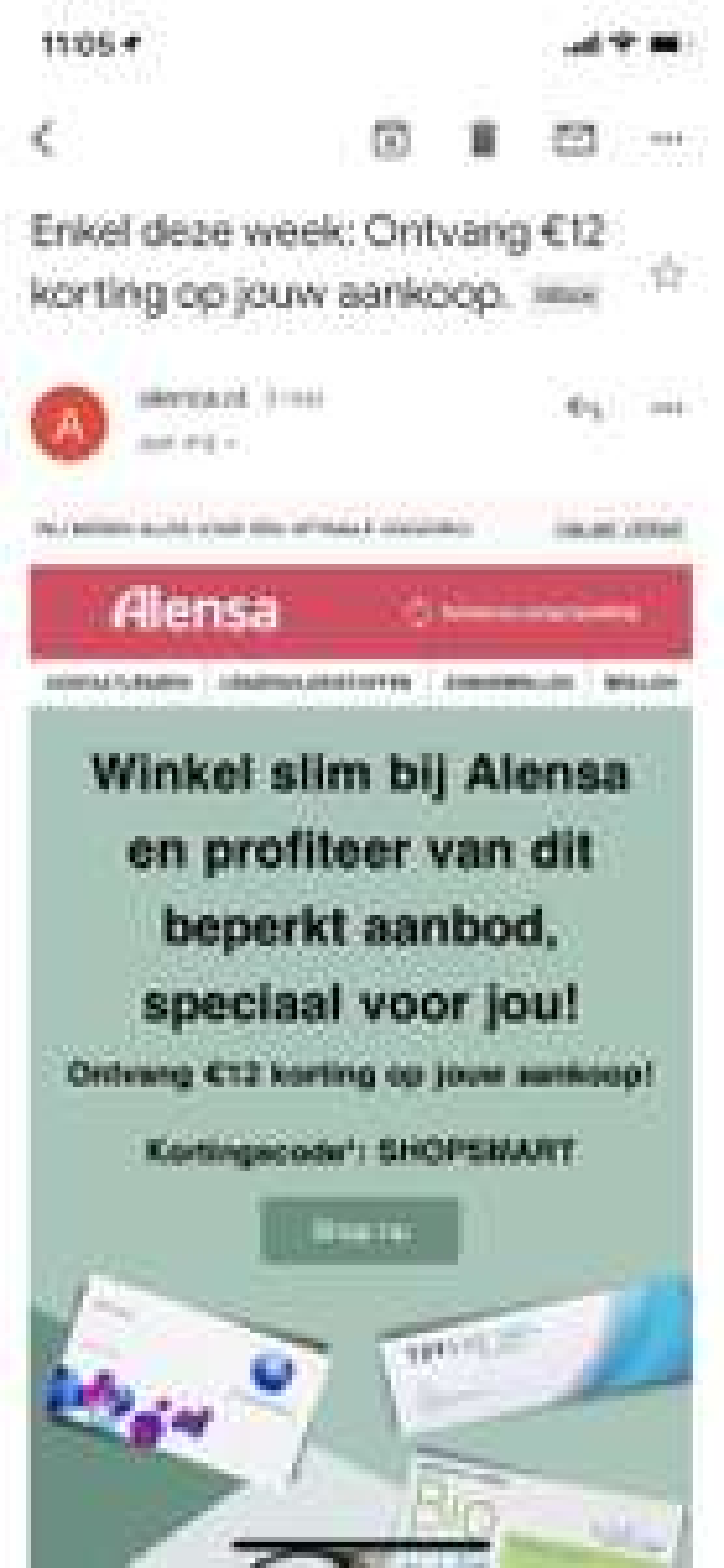 Alensa: 12 euro (15% bij 80 euro) korting vanaf 80 euro (lenzen, vloeistof, brillen)