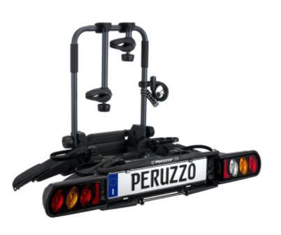 [België] Peruzzo Pure Instinct Inklapbare Fietsendrager Trekhaak (2 fietsen)
