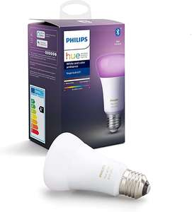 1x Philips Hue e27 White and Color met bluetooth