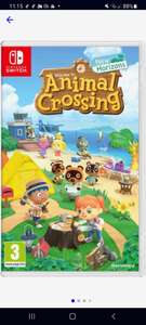 Switch Animal Crossing Horizons