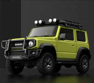 XIAOMI XMYKC01CM for Suzuki Jimny Sierra Yellow Intelligent 1:16 Proportional 4WD Rock Crawler App Control RC Car Vehicles Model Green