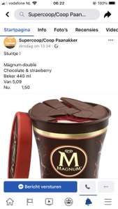 Magnum pint double chocolate&strawberry