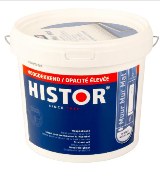 Histor muurverf nu erg goedkoop 7,95 @ Action