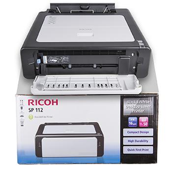 Ricoh laserprinter SP112 voor €24,99 @ Dirk