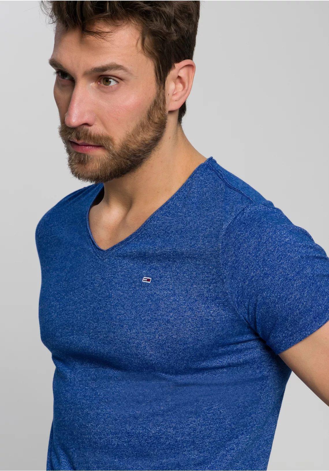 Tommy Jeans V-Neck Jaspe shirt