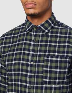 JACK & JONES mens shirt JJPLAIN PRE CHECK SHIRT LS