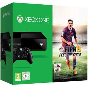 Xbox One Console + FIFA 15 + 2 controllers voor € 405,70 @ Amazon.de